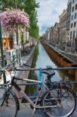 Weergave van amsterdam brug — Stockfoto