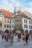 Exterior of famous Hofbrauhaus - Munich, Germany — Stock Photo