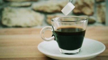 Coffee sugar free — Stock Video