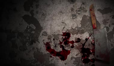 Halloween horror background — Stock Video