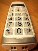 Close up phone — Stock Photo