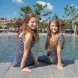 Two girl in Amsterdam — Stock Photo #56337577