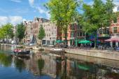 Amsterdam city — Stok fotoğraf