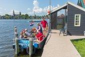 Zaanse Schans amsterdam — Stock Photo