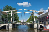 Bridges in Amsterdam — Stock Photo