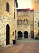 San Gimignano - taly — Stock Photo