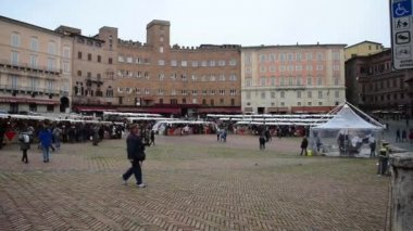 Siena,Italy- — Stock Video