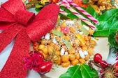 Comida napolitana struffoli — Foto de Stock