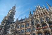 Marienplatz, Town Hall — Stock Photo