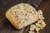 Cereal bread — Stock Photo