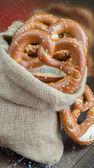 Bavarian pretzel — Stock Photo