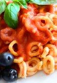 Small rings of  Sicilian pasta — Stock Photo
