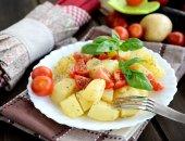 Potatoes salad — Stock Photo