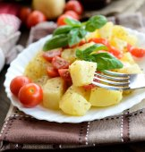 Potatoes salad — Stock Photo