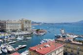 Naples, Italy, Borgo Marinari — Stock Photo