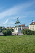 Hofburg statue — Stock Photo