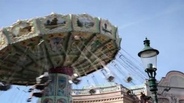 The Prater in Vienna - Austria — Stock Video