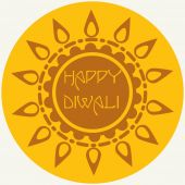 Happy Diwali Festival — Stock Vector