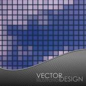 Mozaïek tegels textuur achtergrond — Stok Vektör