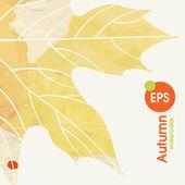Simple Autumn Background — Vector de stock