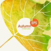 Proste tło jesień — Wektor stockowy