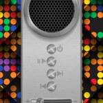 Abstract Speaker Concept Design. — Stock Vector #61144613