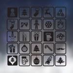 Christmas Icons Set — Stock Vector #61270547