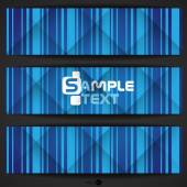 Abstract Blue Stripe Background — Vector de stock