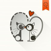 Happy Valentines Day Icon — Stockvektor