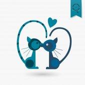 Happy Valentines Day Icon — Stock vektor