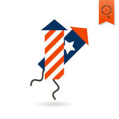 Independence Day of the United States — Stock Vector