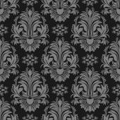 Damask seamless  floral Wallpaper for design — Vecteur