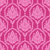 Розовый бесшовные цветочные обои. — Cтоковый вектор
