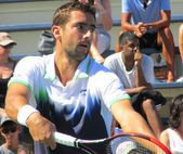 New York City, United States Marin Cilic at the 2014 US Open — Stock Photo