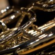 French Horn fragment — Stock Photo #77043689