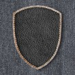 Leather patch — Stock Photo #77047731