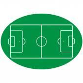 Football Pitch Vector — Stock Vector