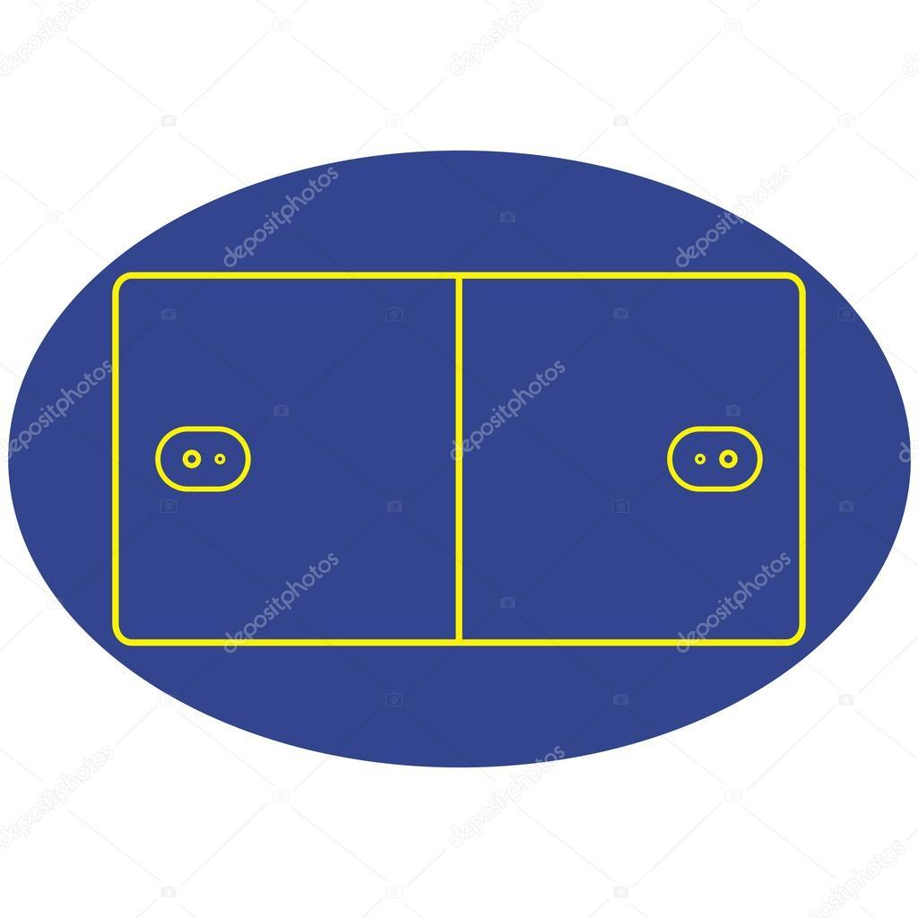 Korfball court