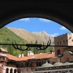 Monastery of St John Rilski Rila Mountain Bulgaria — Stock Photo #70798573