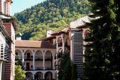 Monastery of St John Rilski Rila Mountain Bulgaria — Stock Photo