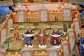 Frescoes of the Orthodox Church. Rila Monastery Bulgaria — Stock Photo