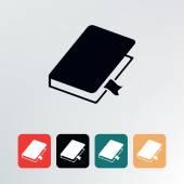 Book icon. — Stock Vector