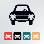 Car icon. — Stock Vector