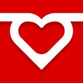 Heart. — Vector de stock