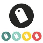 Etykieta ikona. — Wektor stockowy
