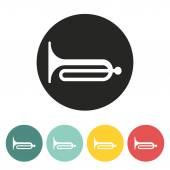 Klaxon icon. — Stock Vector