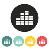 Equalizer icon. — Stock Vector