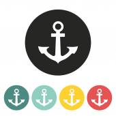Anchor icon. — Stock Vector
