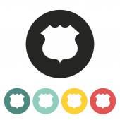 Shield icon. — Stock Vector