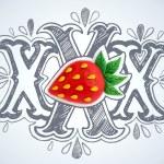 Plasticine Strawberry design — Stock Photo #70428415